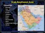 arab southwest asia3