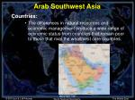 arab southwest asia4