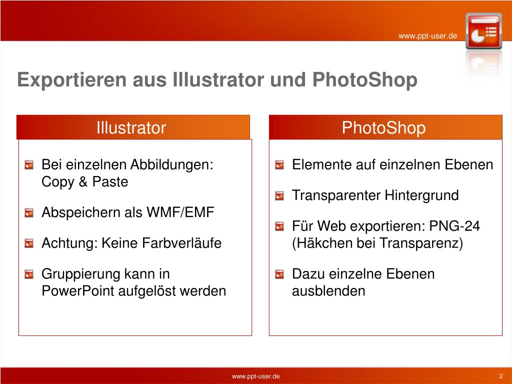 Powerpoint transparenter hintergrund exportieren