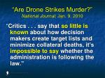 are drone strikes murder national journal jan 9 2010152