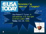 are terrorists like osama bin laden lawful targets