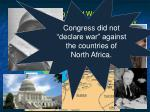 during world war ii congress declared war against germany96