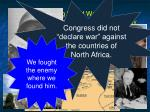 during world war ii congress declared war against germany97