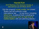 harold koh 2010 meeting of the american society of international law 25 march 2010