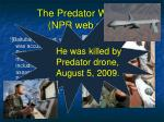 the predator works npr web site148