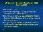 un security council resolution 1368 sept 12 2001
