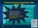 un security council resolution 1368 sept 12 200139