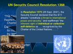 un security council resolution 1368 sept 12 200142