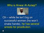 who is anwar al aulaqi31