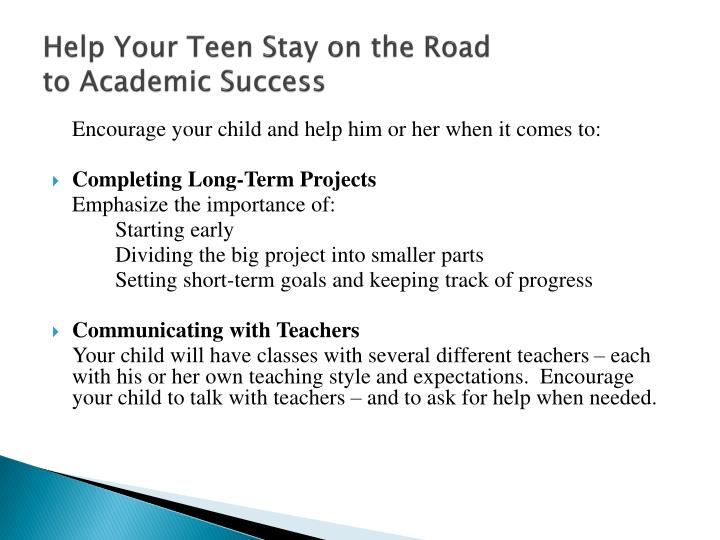 Help Your Teen Stay on the Road