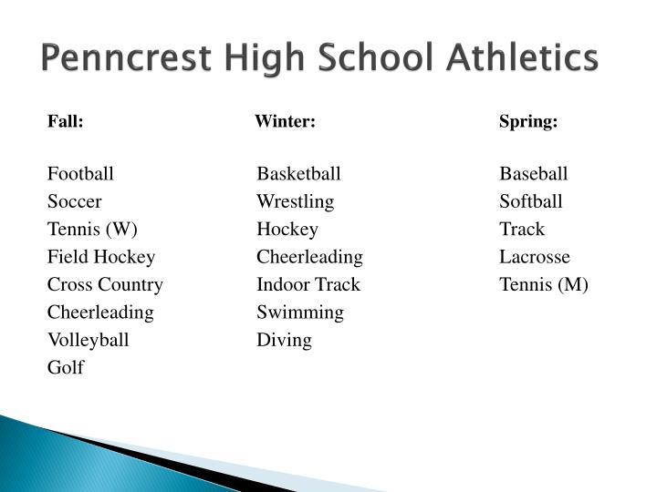 Penncrest High School Athletics