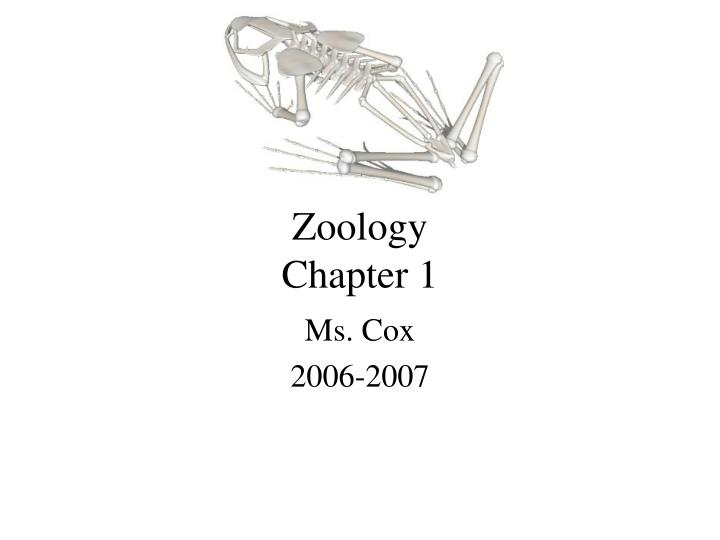 zoology chapter 1 n.