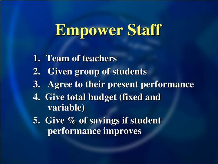 Empower Staff