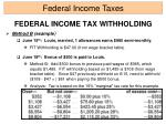 federal income tax withholding16