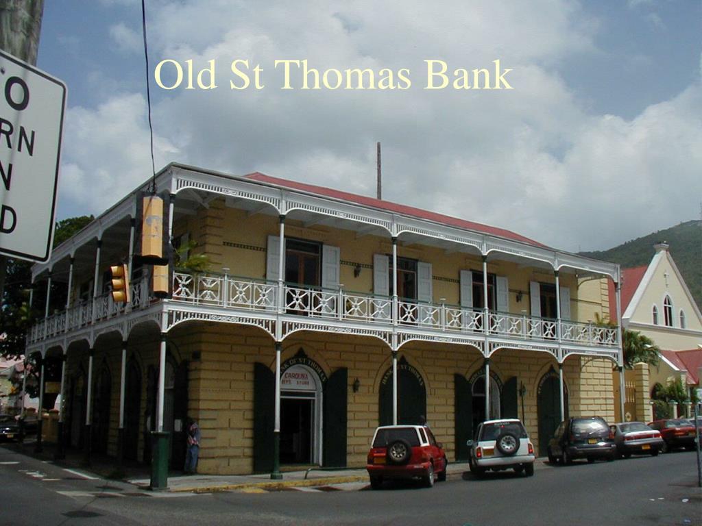 Old St Thomas Bank