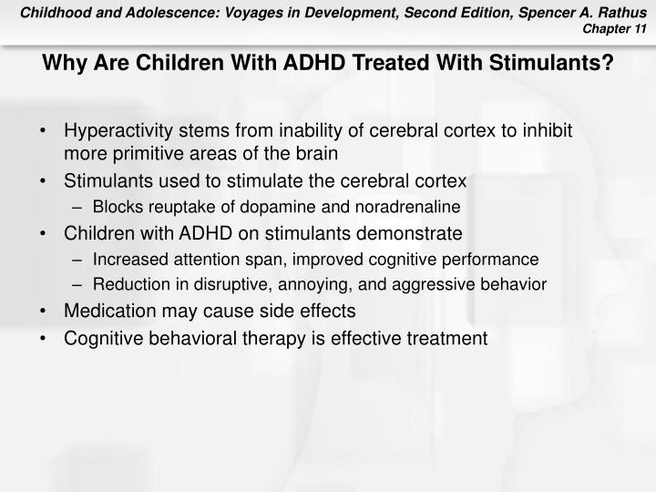 Why Are Children With ADHD Treated With Stimulants?