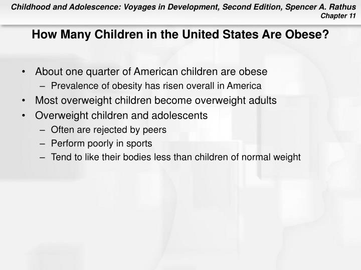 How Many Children in the United States Are Obese?