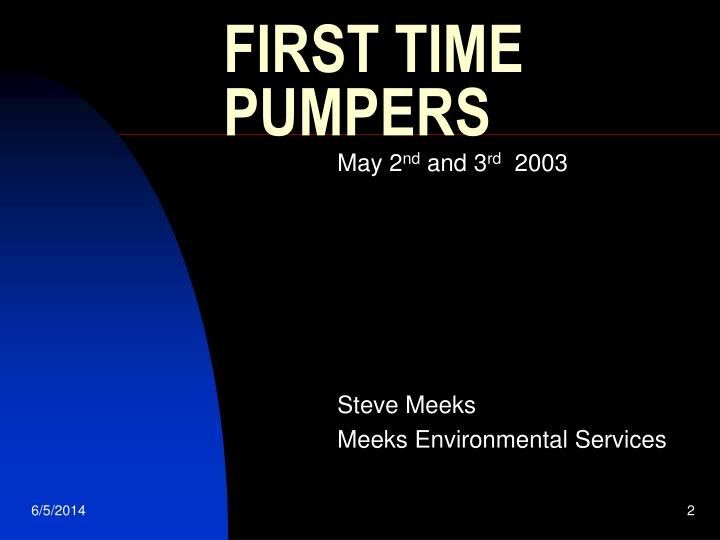 First time pumpers1