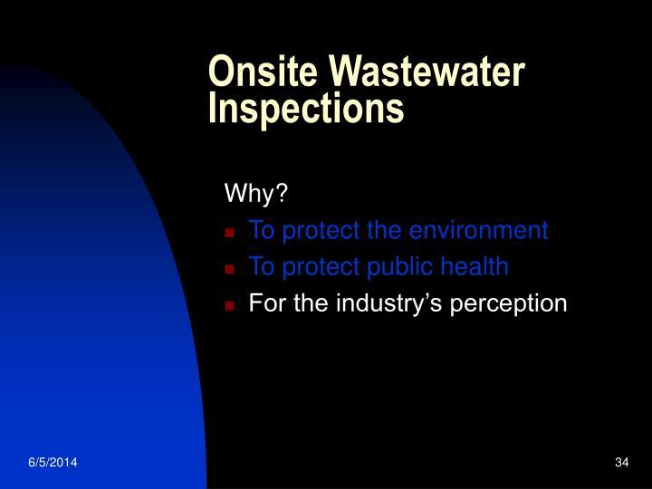 Onsite Wastewater