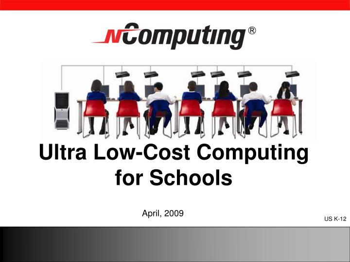 ultra low cost computing for schools n.