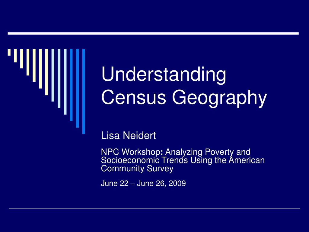 understanding census geography l.