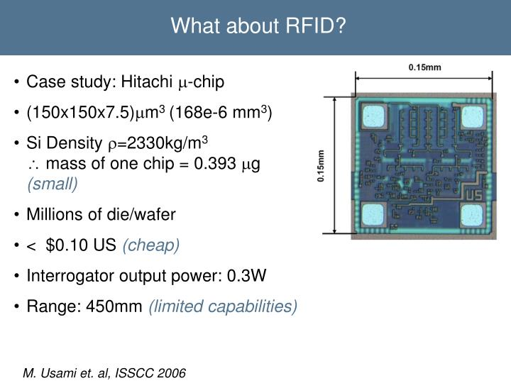 What about RFID?