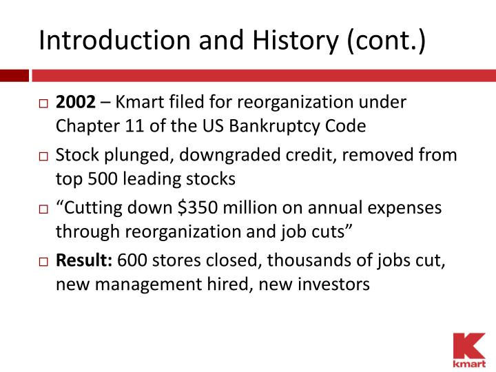 Introduction and History (cont.)