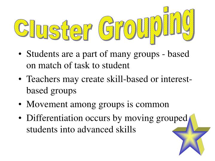 Cluster Grouping