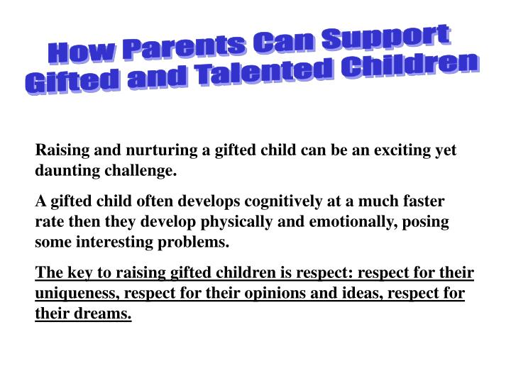How Parents Can Support