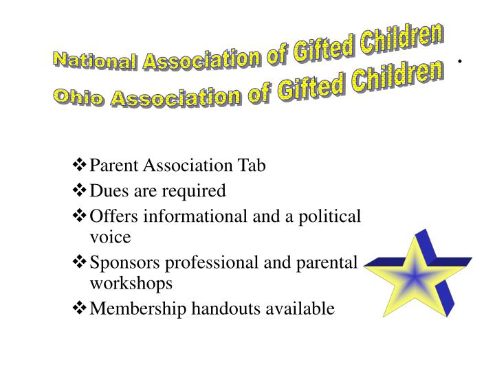 National Association of Gifted Children