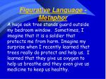 figurative language metaphor