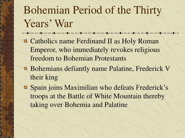 Bohemian Period of the Thirty Years' War