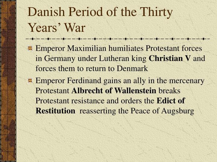 Danish Period of the Thirty Years' War
