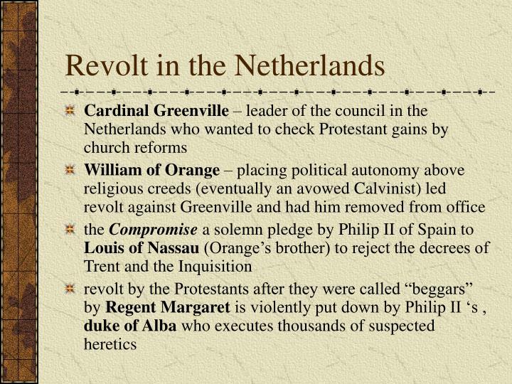 Revolt in the Netherlands