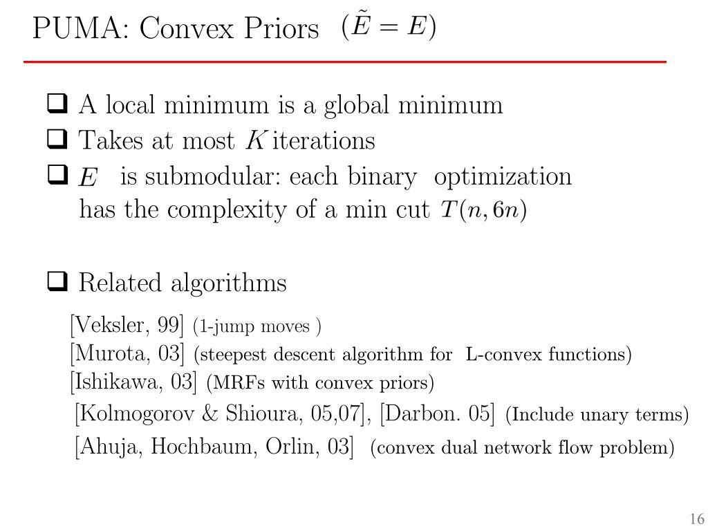 is submodular: each binary  optimization
