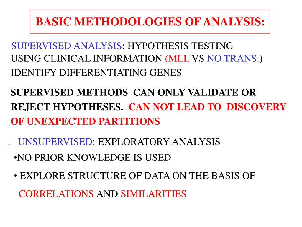basic methodologies1 l.