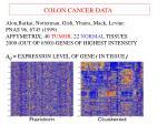 colon cancer data