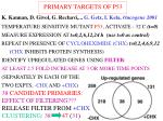primary targets of p53