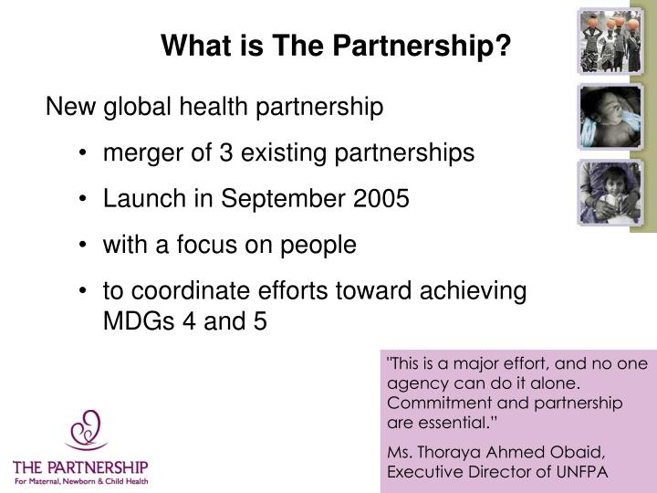 What is The Partnership?