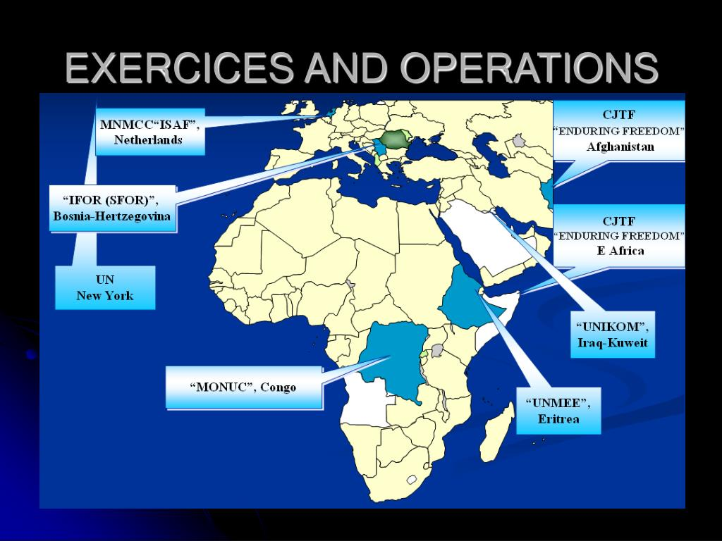 EXERCICES AND OPERATIONS