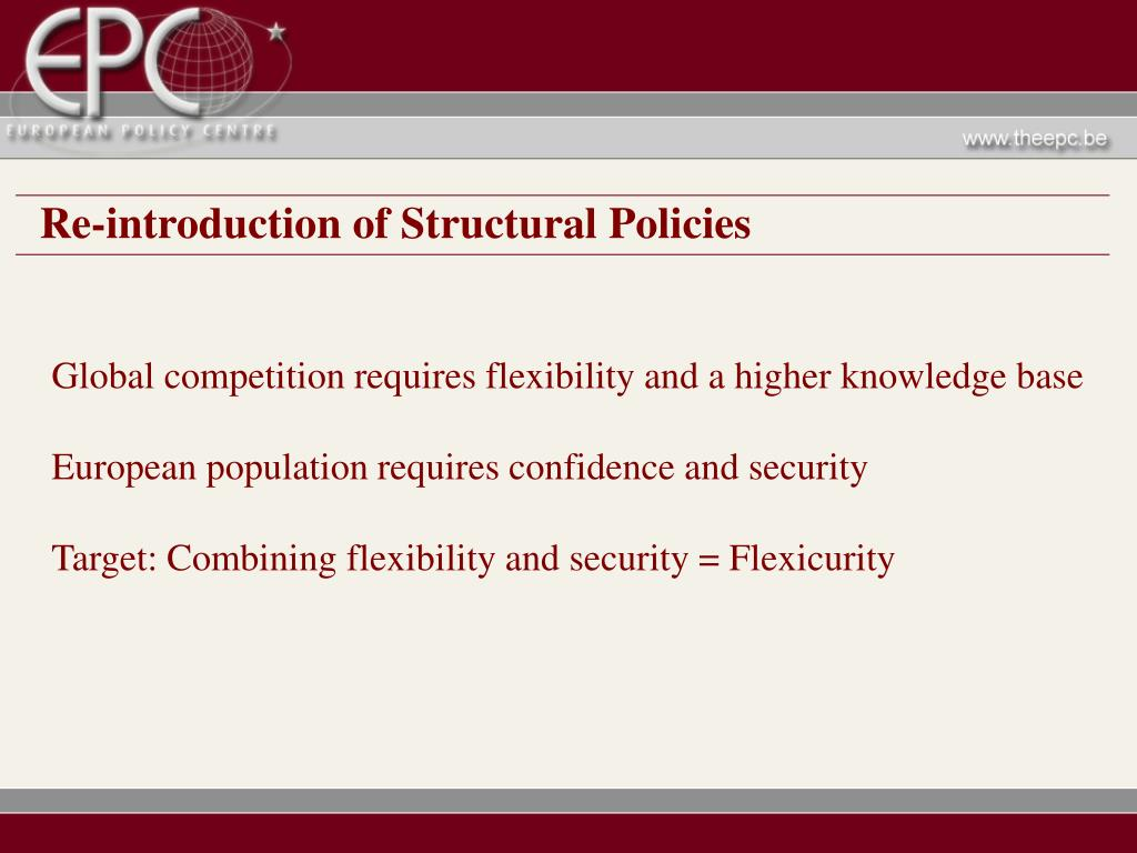 Re-introduction of Structural Policies
