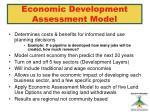 economic development assessment model1