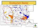 ecotourism sector