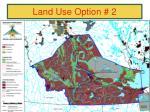 land use option 21