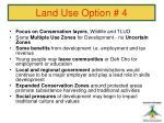 land use option 4