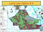 land use option 41
