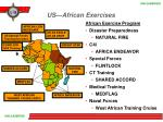 us african exercises