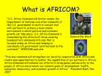 what is africom