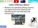 less milking labour1
