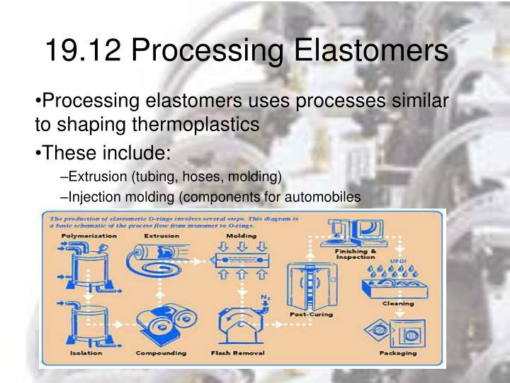19.12 Processing Elastomers